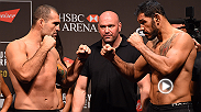 Megan Olivi takes you through all the highlights and drama of the final weigh-in before UFC 190 in Rio de Janeiro Brazil. Check out stars like Ronda Rousey, Bethe Correia, Shogun Rua, Stefan Struve and more as the step on the scales.