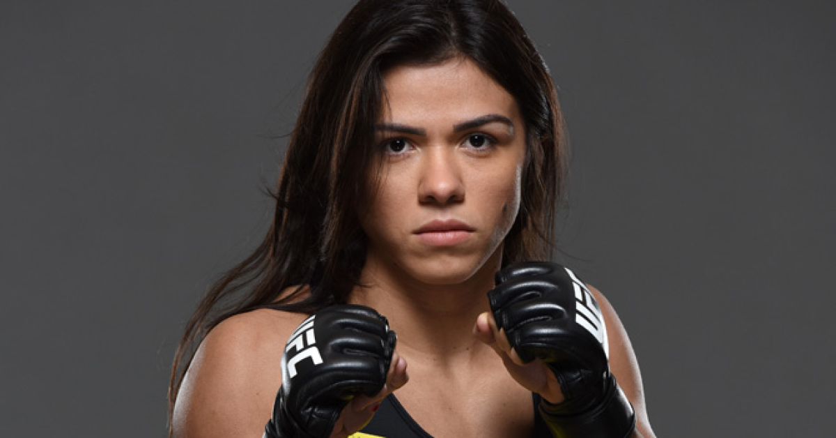 UFC 190: Claudia Gadelha Backstage Interview | UFC ® - Media