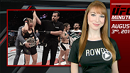 UFC Minute host Lisa Foiles looks back at UFC 190 and the tremendous KO victory by UFC women's bantamweight champion Ronda Rousey.