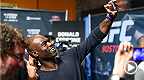 UFC middleweight Uriah Hall hopes to help young people in Southern California by telling the story his youth, where he was bullied to the brink of suicide. Hall is in action in Nashville vs. Oluwale Bamgbose.
