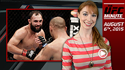 UFC Minute host Lisa Foiles previews the upcoming UFC 192 fight card that's starting to take shape with additions like Johny Hendricks and Rashad Evans, and talks more Fight Night Nashville.