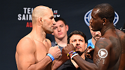 UFC stars such as Ovince Saint Preux, Glover Teixeira, Sam Alvey, Michael Johnson and more step on the scales one last time at the official weigh-ins before their bouts Saturday at UFC Fight Night Nashville.