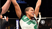 Visit backstage with Amanda Nunes after her thrilling first round submission of Sara McMann at UFC Fight Night Nashville.