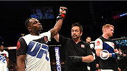 We catch up with Derek Brunson backstage at Fight Night Nashville after his decisive win over Sam Alvey.