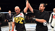 We catch up with Glover Teixeira Backstage after his dramatic submission victory over hometown favorite Ovince Saint Preux at Fight Night Nashville.