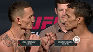 Watch the as the stars of UFC Fight Night: Holloway vs. Oliveira weigh-in before they square off in the octagon Saturday, August 22 at 11pm BST.