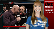 UFC Minute host Lisa Foiles gives you the highlights of Ronda Rousey's recent Reddit AMA, as well as her opinion on why the Cyborg fight still hasn't been slated.