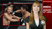 UFC Minute host Lisa Foiles looks ahead to Fight Night Saskatoon and what the implications are on the future of the featherweight division.