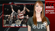 UFC Minute host Lisa Foiles details two huge December fight announcements: Chris Weidman vs. Luke Rockhold and Rafael dos Anjos vs. Cowboy Cerrone.