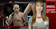 UFC Minute host Lisa Foiles talks about Jacare Souza's upcoming fight with Yoel Romero at UFC 194 in Las Vegas. Foiles also details upcoming bouts: Henry Cejudo vs. Jussier Formiga, Joseph Benavidez vs. Ali Bagautinov and Rose Namajunas vs. Angela Hill