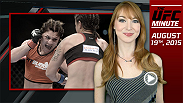 UFC Minute host Lisa Foiles recaps Miesha Tate's birthday at Seattle Seahawks practice and highlights Bethe Correia's response to recent Ronda Rousey news.