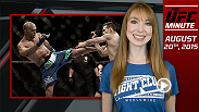 UFC Minute host Lisa Foiles details the huge UFC 193 announcement that dropped on Wednesday that the UFC is headed to Melbourne, Australia at the 70,000-seat Etihad Stadium. Robbie Lawler defends his 170-lb title against Carlos Condit in the main event.