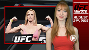 UFC Minute host Lisa Foiles details the huge Ronda Rousey announcement that happened on Friday's episode of Good Morning America on ABC. Rousey will face Holly Holm at UFC 195 in Las Vegas on Jan. 2, 2016.