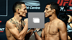 UFC Fight Night Holloway vs Oliveira Weigh-In Gallery