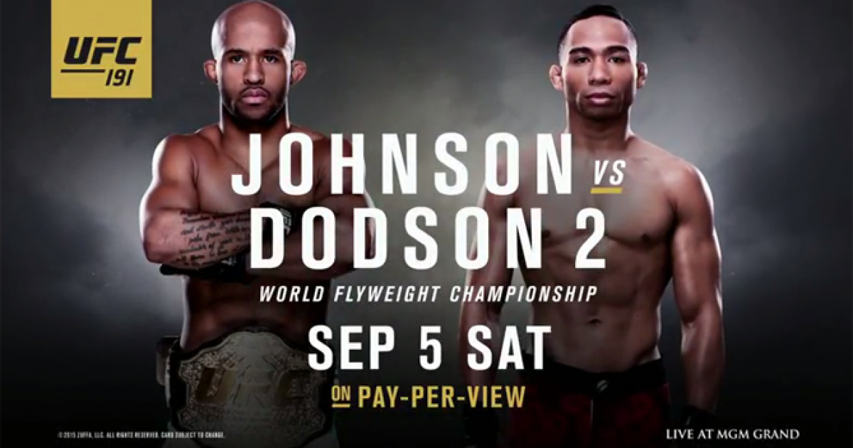ufc pay per view