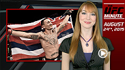 UFC Minute host Lisa Foiles looks back at Sunday night's Fight Night Saskatoon and the big win by Max Holloway and the fight of the night between Patrick Cote and Josh Burkman.