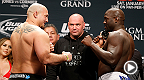 "Watch again as Shawn ""The Savage"" Jordan surprises Jared Cannonier with a right hand over the top in this edition of Knockout of the Week. Jordan meets Ruslan Magomedov at UFC 192 in Houston on October 23, 2015."