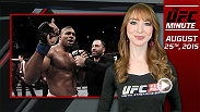 UFC Minute host Lisa Foiles delivers breaking news that Junior Dos Santos and Alistair Overeem will meet in co-main event at Fight Night Orlando free on FOX. This event is part of the Go Big seasonal campaign that begins Sept. 27 and runs through UFC 195.