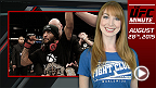 UFC Minute host Lisa Foiles looks back at the first fight between Demetrious Johnson and John Dodson, who are set to do it all again at UFC 191 on Sept. 5.