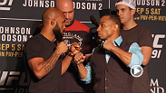 Check out the highlights from UFC 191's Media Day, featuring Frank Mir, Demetrious Johnson, John Dodson, Paige VanZant and more. UFC 191 is underway Saturday from Las Vegas, NV and Pay-Per-View.