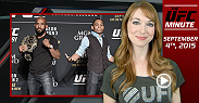 UFC Minute host Lisa Foiles gets you ready for this weekend's UFC 191 Johnson vs. Dodson II card with a preview of some of the fights on Saturday night.