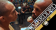 It's soundbytes and staredowns for the stars on the card at Ultimate Media Day: Demetrious Johnson and John Dodson; Paige VanZant and Alex Chambers; Andrei Arlovski and Frank Mir; and light heavyweights Anthony Johnson and Jimi Manuwa.