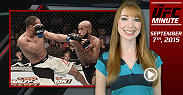 UFC Minute host Lisa Foiles takes a definitive final look at UFC 191 as Demetrious Johnson defended his UFC championship successfully for a seventh time.