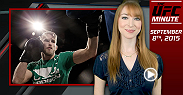 UFC Minute host Lisa Foiles talks to Alexander Gustafsson as he prepares for a unique challenge in light heavyweight champion Daniel Cormier at UFC 192.