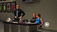 Watch the Conor McGregor-Urijah Faber exchanges from episode 1 of The Ultimate Fighter: Season 22. The Irish interim featherweight champion and the Team Alpha Male head man got into it early and often as they watched the fights to get into the house.