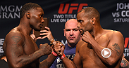Go back and watch as Daniel Cormier overwhelms the ferocious power-puncher Anthony Johnson to claim the vacant UFC light heavyweight title at UFC 187. Cormier m