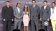 Benson Henderson, Mirko Cro Cop, Dong Hyun Kim and Choo Sung Hoon take the stage to discuss the upcoming UFC Fight Night Seoul card, a historic first UFC card in the capital of South Korea.
