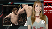 UFC Minute host Lisa Foiles gets you ready for Episode 2 of The Ultimate Fighter: Team McGregor vs. Team Faber as well as gets you ready for Fight Night Japan coming up next week.