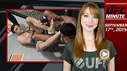 UFC Minute host Lisa Foiles gives you a quick look at Episode 2 of The Ultimate Fighter Team McGregor vs. Team Faber as Ryan Hall gave Faber's team an early lead.