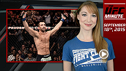 UFC Minute host Lisa Foiles asks UFC stars Luke Rockhold, Alexander Gustafsson and Kelvin Gastelum which GO BIG fights they are looking forward to watching the next few weeks.