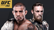 UFC featherweight champion and pound-for-pound king Jose Aldo defends his title against interim champion Conor McGregor in one of the most anticipated title fights in history at UFC 194. Tickets for the historic event are on sale now.