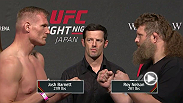 Watch the official weigh-in of UFC Fight Night: Barnett vs. Nelson Friday.