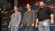 UFC Minute host Lisa Foiles takes a closer look at the main event for Fight Night Japan between Roy Nelson and Josh Barnett. Hear from both big heavyweights who plan to give fans a super show in Japan on Sept. 26.