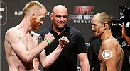 "Paddy ""The Hooligan"" Holohan made his UFC debut in grand fashion when he sunk in a tight rear-naked choke against Josh Sampo. Go back and watch how he did it and don't miss the Holohan in action again at Fight Night Dublin vs. Louis Smolka."