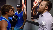 Conor McGregor exploded Octagon-side last week and Urijah Faber took the opportunity to jab the Irishman about his behavior. Don't miss all new episode on FOX Sports 1 every Wednesday at 10pm/7pm ETPT.