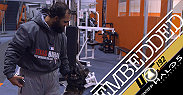 Alexander Gustafsson arrives to Houston from Sweden while champion Daniel Cormier gets his diet ready for UFC 192, Tyron Woodley works out at home and more in this episode of UFC 192 Embedded.