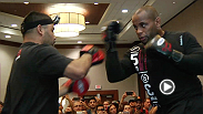 The stars of UFC 192 have arrived in Houston. Watch as they host open workouts in preparation for Saturday.