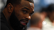 Tyron Woodley reacts to news that Johny Hendricks had to pull out of their UFC 192 matchup just one day before the fight and a possible next fight for the championship.