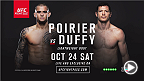 The Octagon returns to Dublin with UFC Fight Night: Poirier vs. Duffy on Oct. 24 exclusive to UFC FIGHT PASS.