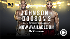 UFC 191 maintenant disponible sur FIGHT PASS