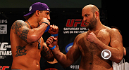 A flurry of early exchanges between Ben Rothwell and Brendan Schaub at U