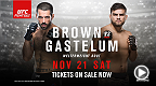 Ranked welterweights Matt Brown and Kevin Gastelum square off at Fight Night in Monterey, Mexico. Tickets are now on sale.