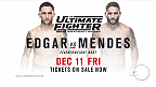 On the eve of UFC 194 is the TUF 22 Finale at The Cosmopolitan in Las Vegas. Headlining the card are featherweights Chad Mendes and Frankie Edgar, and lightweights Khabib Nurmagomedov and Tony Ferguson. Tickets are on sale now!