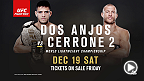 Rafael dos Anjos looks to defend his lightweight belt for the first time against Donald Cerrone at Fight Night Orlando. Tickets are available Friday!
