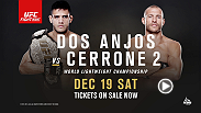 Rafael dos Anjos looks to defend his lightweight belt for the first time against Donald Cerrone at Fight Night Orlando. Tickets are available now!