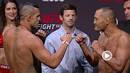Watch the official weigh-in of UFC Fight Night: Sao Paulo on Friday, Nov. 6, at 4pm/1pm ETPT.